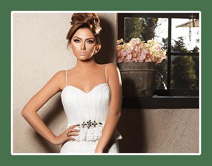 עיצוב שמלות כלה וערב - מיכל אזולאי